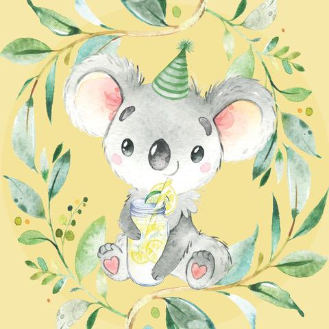 10cm koala sticker